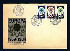 PORTUGAL - PORTOGALLO - 1964 - Europa - Fiore con 22 petali - (U)