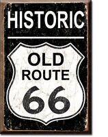 Historique Vieux Route 66 Réfrigérateur Aimant (de)