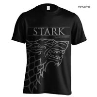 Official T Shirt Game of Thrones House Stark OUTLINE Direwolf All Sizes