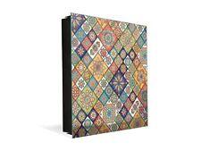 Decorative Key Organizer with Magnetic Board K01 Luxury oriental patchwork
