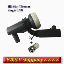 Sky MK4 LNB Single HD for Sky HD/Freesat HD +1 FREE F-CONNECTOR