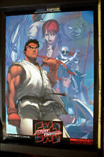 Street FIGHTER ex2 CAPCOM JAPAN OFFICIAL POSTER 103cmx73cm 4485 MVS JAMMA ARCADE