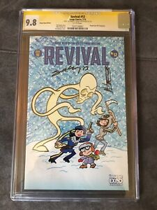 Revival #12 Cgc 9.8 Signed By Tim Seeley And Mike Norton