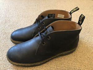 Doc Martens UK9 Cabrillo Desert Boots Black Leather