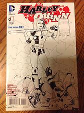 Harley Quinn #1 - 2014 Series - 4th Printing Sketch Variant