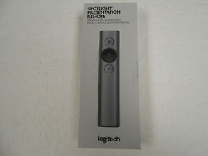 NEW Logitech Spotlight Presentation Remote ( Slate)