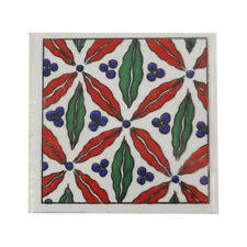 "Home Décor Fridge Magnet - Olives Print 2""x2"" Ceramic Tile"