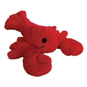 Grriggles, Dog Puppy Plush Squeaky Toy, Red Lobster, Catch Of The Day, 7""