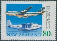 New Zealand 1990 SG1539 80c Aircraft MNH