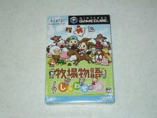 Harvest Moon: Poem Of Happiness Nintendo GameCube Japan Import Sealed