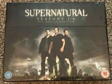 New, Never Opened Supernatural Seasons 1-6 Blue-Ray Box Set, Factory wrapped
