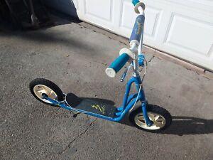 Old School BMX Vintage 1980's Freestyle Scooter Variflex Strada GT schwinn YO