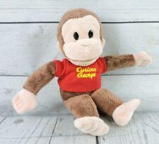 "Gund Curious George Monkey Plush 9"" Stuffed Animal Little Security Adventure Toy"