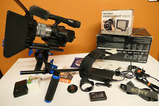 SONY NEX-VG10 SEL E Film FULL HD 1080p Cinematic CAMCORDER Camera LENS & EXTRAS