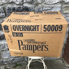 Vtg Abdl Pampers 70s Diaper Shipping Original Box P&G Collectors Item Adult Baby
