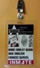 Batman ID Badge- Arkham Institute Inmate Harley Quinn  cosplay prop costume