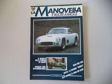 LA MANOVELLA 11-12/1988 FERRARI E ZAGATO/PEUGEOT LION/DKW URE 250/LANCIA APPIA