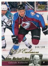 10/11 UPPER DECK UD EXCLUSIVES #297 JOHN-MICHAEL LILES 044/100 AVALANCHE *46840