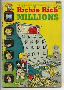 Richie Rich Millions #15 (Harvey Comics, 1965) Giant Size Little Dot Lotta Rare