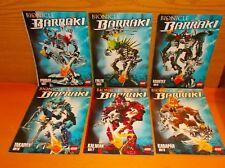Lego Bionicle Barraki 6x Anleitung 8916 8917 8918 8919 8920 8921