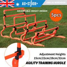 5pcs Adjustbale Speed Hurdles Football Sports Training Equipment