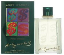 Andy Warhol Pour Homme by Andy Warhol for Men EDT Cologne Spray 3.4 oz. NIB