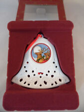 Villeroy & Boch My Christmas Tree Ornament Glocke Aufhänger Weihnachten