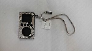 Coach Python/Snakeskin 3rd Generation iPod Case (New W/Tags)