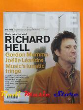 rivista WIRE 216/2002 Richarde Hell Gordon Mumma Joelle Leandre Fog AGF * No cd