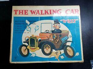 Vintage Willie the Walking Car #710 in original box