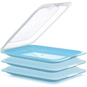 Aufschnittdose Aufschnittboxen Apilable Almacenamiento Refrigerador Bandeja