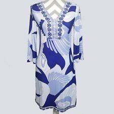 06708a5f739 White Mark Womens Sheath Dress Small S Printed Bell Sleeve Purple Retro kfp1