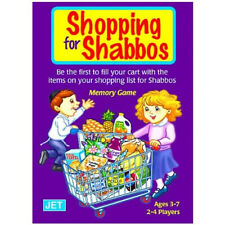 Shopping for Shabbos Memory Game. Jewish Educational Toys.