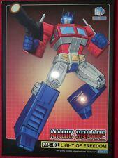 Magic Square Light of Freedom Transformers Masterpiece MS-01 Optimus Prime
