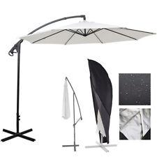 Heavy Duty Parasol Cantilever Outdoor Garden Hanging Umbrella Cover Sun Shade UK
