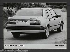 PRESS - FOTO/PHOTO/PICTURE - Volvo 940 Turbo 1991