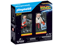 Playmobil 70459 Back to the Future (C) Marty and Doc (Figures & People) Age 3+