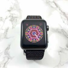 Apple Watch Series 1 38mm Space Gray Aluminum w Black Sport Nylon Loop MP022LL/A