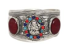 Jasper Bracelet Tribal Bracelet Silver Bracelet Tibetan Bracelet Boho Hippie