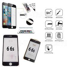 COMPLETO IPHONE 6 4d Temper vetro protezione schermo LCD per Apple iPhone 6 6s-Nero