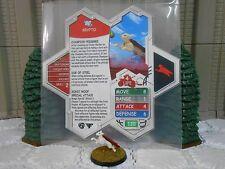 Heroscape Custom Krypto Double Sided Card & Figure w/ Sleeve DC
