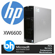 Barebones HP XW6600 Workstation Twin Quad Core 5400 Xeon Up To 32GB RAM 650W PSU