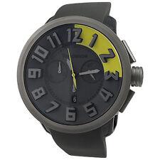 Tendence Round Gulliver Chronograph Titanium Men's Watch 02037011 SWISS MADE