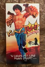 Kung Pow: Enter the Fist (VHS, 2003) Near Mint!! Very Rare!!