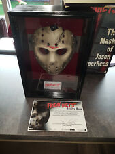 Extremely Rare! Neca Friday the 13th Jason Voorhees Mask in Display LE of 1000