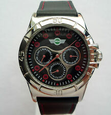 MINI John Cooper Works S JCW Rally Racing Sport Business Red Chili Design Watch