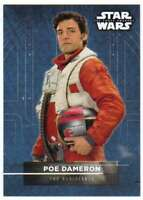 2016 Topps Star Wars Force Awakens Series 2 Character Sticker #8 Poe Dameron