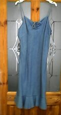 Evie denim cotton super summer dress size 14