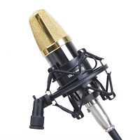 Professional 50mm Microphone Shockproof Mount For 48-54mm Diameter Condenser Mic