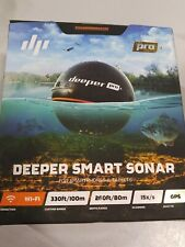Deeper PRO+ Smart Sonar - GPS Portable Wireless Wi-Fi Fish Finder for Shore